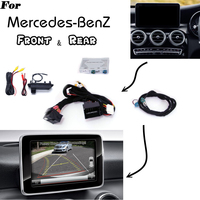 For Mercedes Benz Reverse Parking Decoder Front Bakcup Rear camera Display interface Class A B C E M S ML CLA CLS GLA GLA GLK