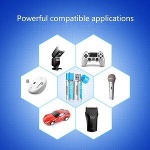 Image 3 - 4/8 Cái Sorbo 1.5V AA 1200 MAh Lithium Polymer Lithium Pin USB Sạc Pin Lithium Không bao Gồm Cáp USB Bộ