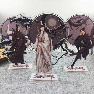 Anime Mo Dao Zu Shi komiks akrylowy stojak model figurki stojak na talerze ozdoba na wierzch tortu anime komiks