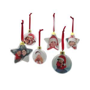 Image 2 - DIY 透明写真 5 スターボールクリスマス装飾バレンタインの日のギフト用品ハンギング x mas のため装飾パーティー