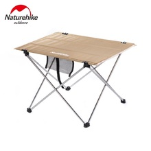 NatureHike Фабрика Открытый Кемпинг Туризм Сверхлегкий складной стол путешествия диких обеденный стол для пикника утолщаются Оксфорд Складной Стол