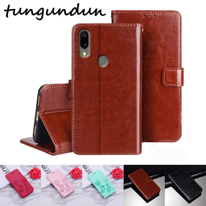 Case For Umidigi A3S Luxury PU Leather Flip Capa For UMIDIGI A3S Stand Magnetic Wallet Cover Case For Umi A 3 S With Card Slot