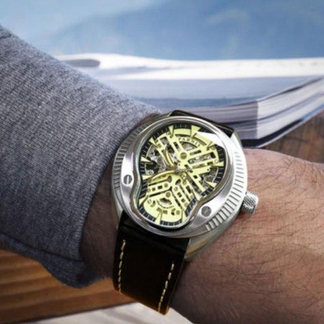 高級 44 ミリメートルパーニスサファイアダイヤルカレンダー御代田レロジオ masculino 腕時計トップブランド自動機械式メンズ腕時計