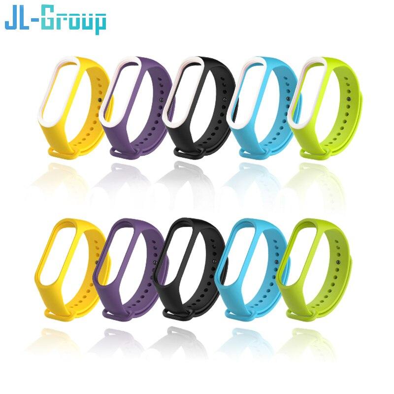 Mi Band 4 Strap Bracelet Strap For Xiaomi Silicone Mi Band 3 For Miband 4/3 Wrist Strap Wristband Replacement Smart Accessories