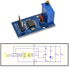 Module NE555 5v-12v-Signal-Generator Square Wave Frequency-Duty Pulse Adjustable Cycle