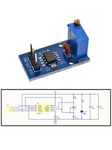 Module NE555 5v-12v-Signal-Generator Frequency-Duty Pulse Square Wave Cycle Adjustable