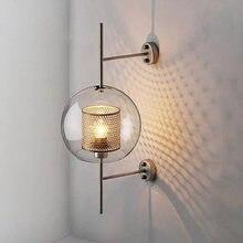 Современная светодиодсветодиодный настенная лампа в стиле лофт