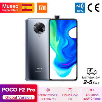 "Global Version Xiaomi POCO F2 Pro Smartphone 6GB/8GB 128GB/256GB Snapdragon 865 5G 64MP Quad Cam 6.67"" Mobile Phone 4700mAh 30W"