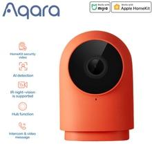 Aqara G2 G2H كاميرا ذكية زيجبي بوابة محور واي فاي لاسلكي 1080P HD كاميرا عرض 140 درجة صوت ل شاومي Mijia الذكية mi home