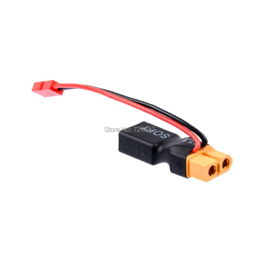 XT60 Female To Deans Male JST Male In-line Power Adapter Lipo Connector T-plug