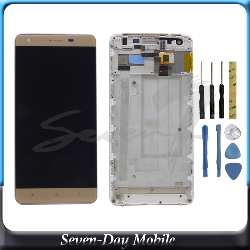 Original Display For Oukitel K6000 LCD Display With Touch Screen Assembly For Oukitel K6000 Display Tested Lcd Repair Parts