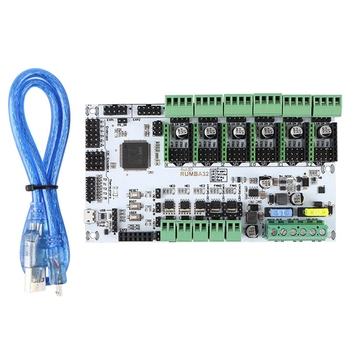 3D Printer Accessories RUMBA-32 Bit Main Control Board Compatible with Marlin 2.0 32-Bit RUMBA Upgrade Version DIY