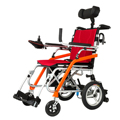 ultra light only 19kg disabled portable folding magnesium alloy power wheelchair with lithium battery