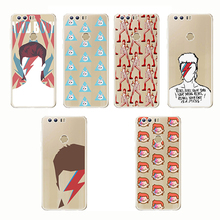 Soft Silicone Transparent TPU David Bowie Case Blackstar Starman Cool Painting for Huawei Mate 10 lite 20 X Honor 9