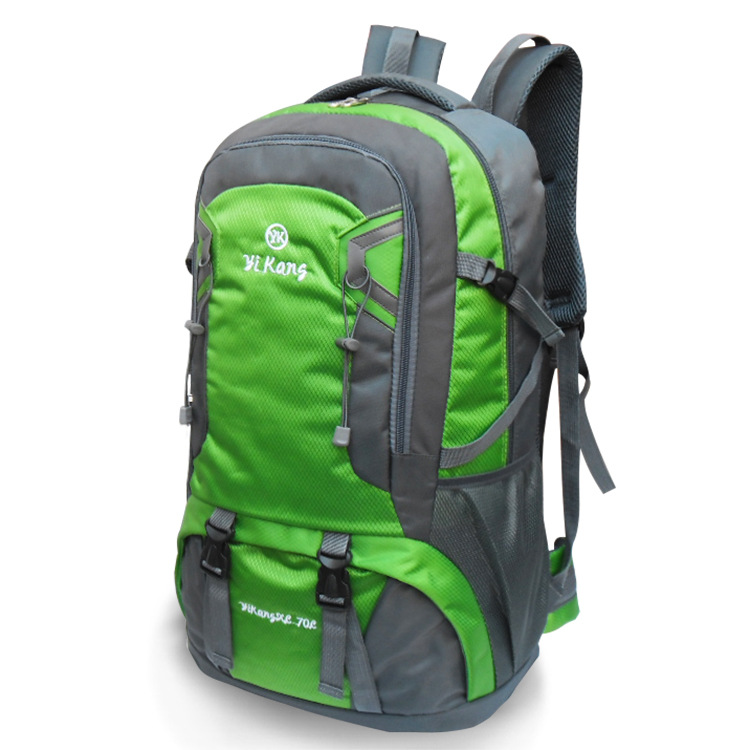 Wholesale Large Capacity Outdoor Backpack Mountaineering Bag Backpack Men And Women Hiking Travel Bag Waterproof Anti-Tear 70L
