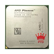 AMD Phenom X4 9150 X4 9150e Quad-Core 1.8GHz, CPU, Socket AM2 +/940pin, pour ordinateur de bureau