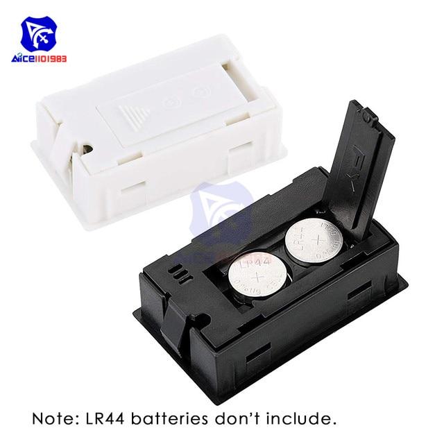 Medidor Digital de humedad y temperatura diymore Mini LCD 10%-99% RH-℃ 50-60 ℃ termómetro higrómetro para invernadero/hogar