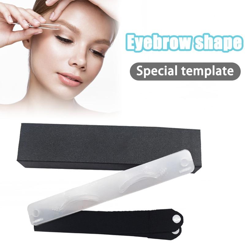 12pcs/set Different Eyebrow Template Eyebrow Stencil with Headwear Strap DIY Eyebrow Shaper Brow Stencils Card KG66 1