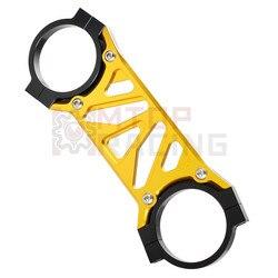 Front Fork Stabilizer Fork Brace For Suzuki SV400 2003 2004 2005 2006 2007 SV650 1999 2000 2001 2002 Silver Gold