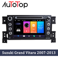 AUTOTOP 2 Din Автомобильный dvd-плеер на основе Android мультимедийная GPS-навигация для Suzuki Grand Vitara 3 2005-2015 Радио стерео аудио Авторадио