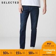 SELECTED Men Jeans Lycra Slight Stretch Vintage Slim Autumn
