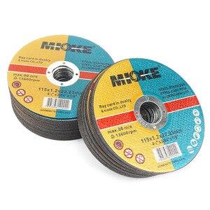 Image 2 - Discos de corte de metal e inoxidável, discos de corte de metal e aço inoxidável de 115mm para moagem de rodas, roda de moagem em ângulo com 5 peças 50 peças