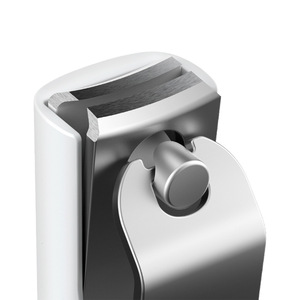 Image 5 - מקורי Xiaomi Mijia שכשוך הוכחת נייל קליפר Xio Mijia הגנה ניתזים נייל סכין 420 נירוסטה עבור יופי יד רגל נייל