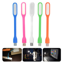 Portable 5 V LED USB Lampu Mini USB Meja Lampu Lampu Baca Melindungi Mata Lampu untuk Xiaomi Power Bank Komputer notebook(China)