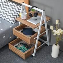 Joylive móvel simples com armário mesa de canto lateral pequena mesa de centro sofá mesa de cabeceira preguiçoso