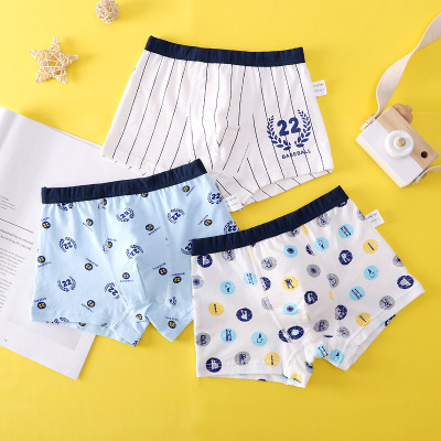 VIDMID new Baby kids  Boys Panties Cotton Underwear Boxer Underpants for boys Cartoon Children's Underwear Clothing 7130 04 4