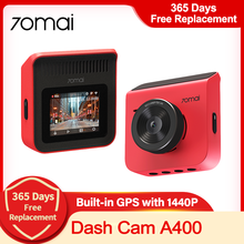 70mai Dash Cam A400 1440P Camera 70mai A400 Auto Dvr Auto Video Recorder Voor Achter Dual Vision 24H parking Monitor App Controle