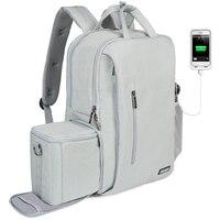 CADeN dslr kamera tasche wasserdichter rucksack schulter Laptop digital kamera & objektiv foto gepäck taschen fall für Canon Nikon Kamera/Video Taschen    -