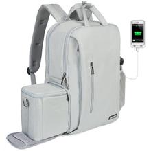 CADeN กระเป๋ากล้อง dslr กระเป๋าเป้สะพายหลังกันน้ำแล็ปท็อปกล้องดิจิตอลและเลนส์ถ่ายภาพกระเป๋าสำหรับ Canon Nikon