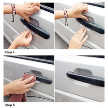 Car Handle Protection Film Car Exterior Transparent Sticker Automotive Auto Accessories Car Styling Car sticker 4pcs lot handle protection film car sticker exterior transparent sticker automotive auto accessories car styling
