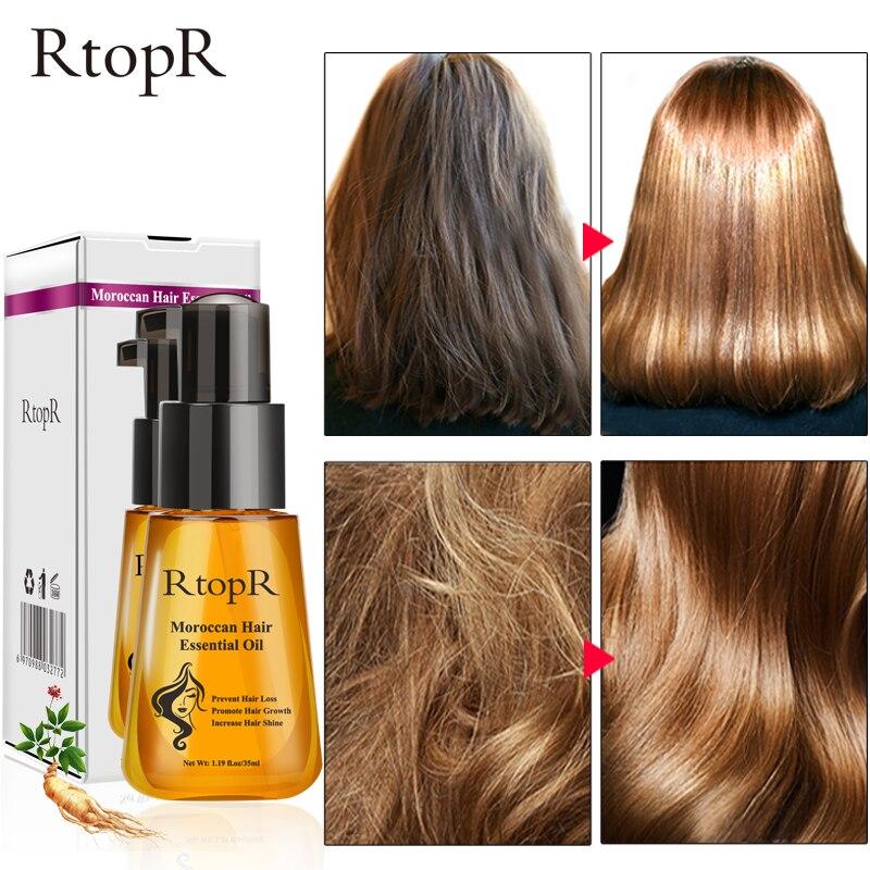 o oleo essencial marroquino dos cuidados capilares impede a perda de cabelo e promove o crescimento
