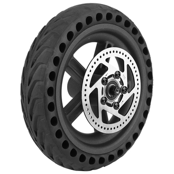 Replacement For Xiaomi Mijia M365 Electric Scooter Rear Wheel Hub Tire Disc Brake Disc Set Accessories