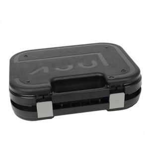 Image 5 - טקטי גלוק ABS אקדח מקרה נרתיק קשיח הילוך תיבת אקדח תיק מרופד קצף רירית עבור ציד ירי אבזרים