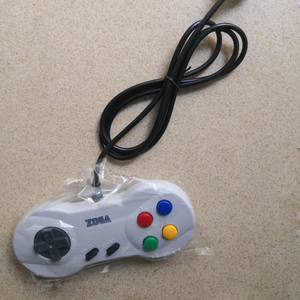 Image 3 - 8 bit 7 Pin Plug style console Cable game Controller GamePad For N E S with Turbo A B Button JP Version