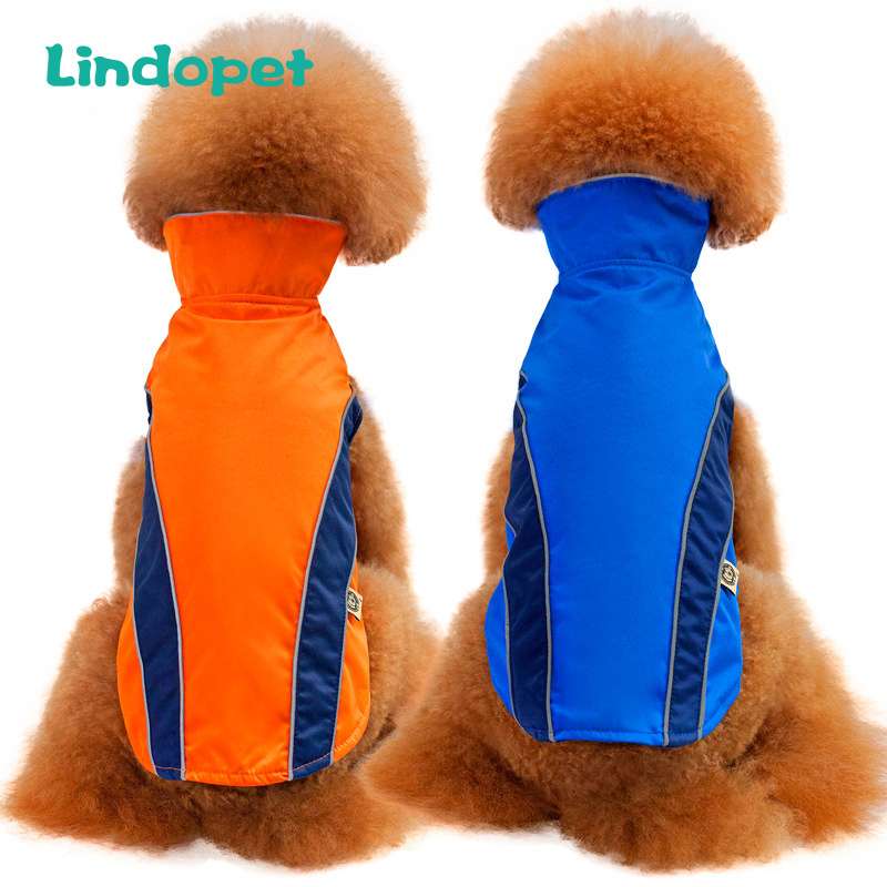 New Warm Pet Ski Clothing Dog Jacket Outdoor Safety Clothing Waterproof Windproof Small And Medium Dog Clothes