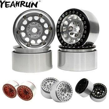 YEAHRUN 5 цветов 4 шт. Алюминий 1,9 колесные диски для Traxxas D90 TRX4 SCX10 SCX10 II 90046 1/10 RC Гусеничный