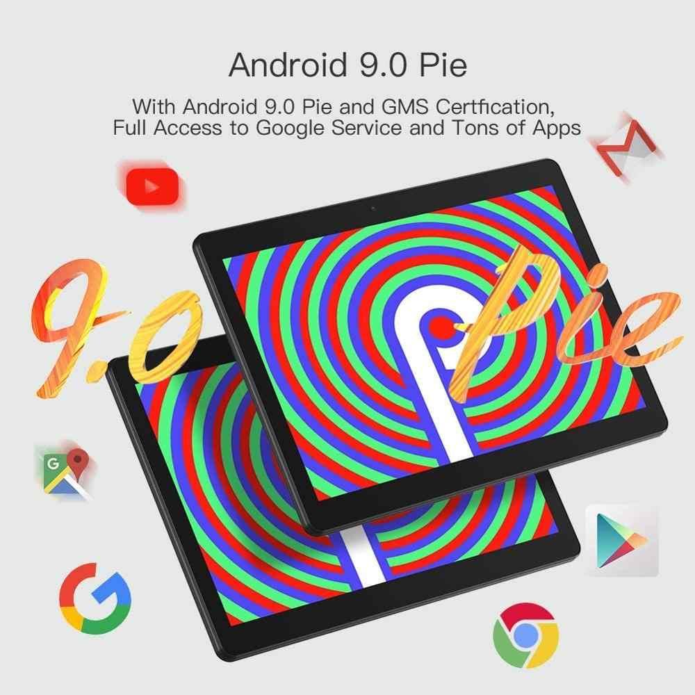 2020 yeni 10 inç Tablet PC Android 9.0 64GB ROM 4 çekirdekli çift kameralar 5.0MP 1280*800 IPS telefon tablet desteği Netflix + hediyeler