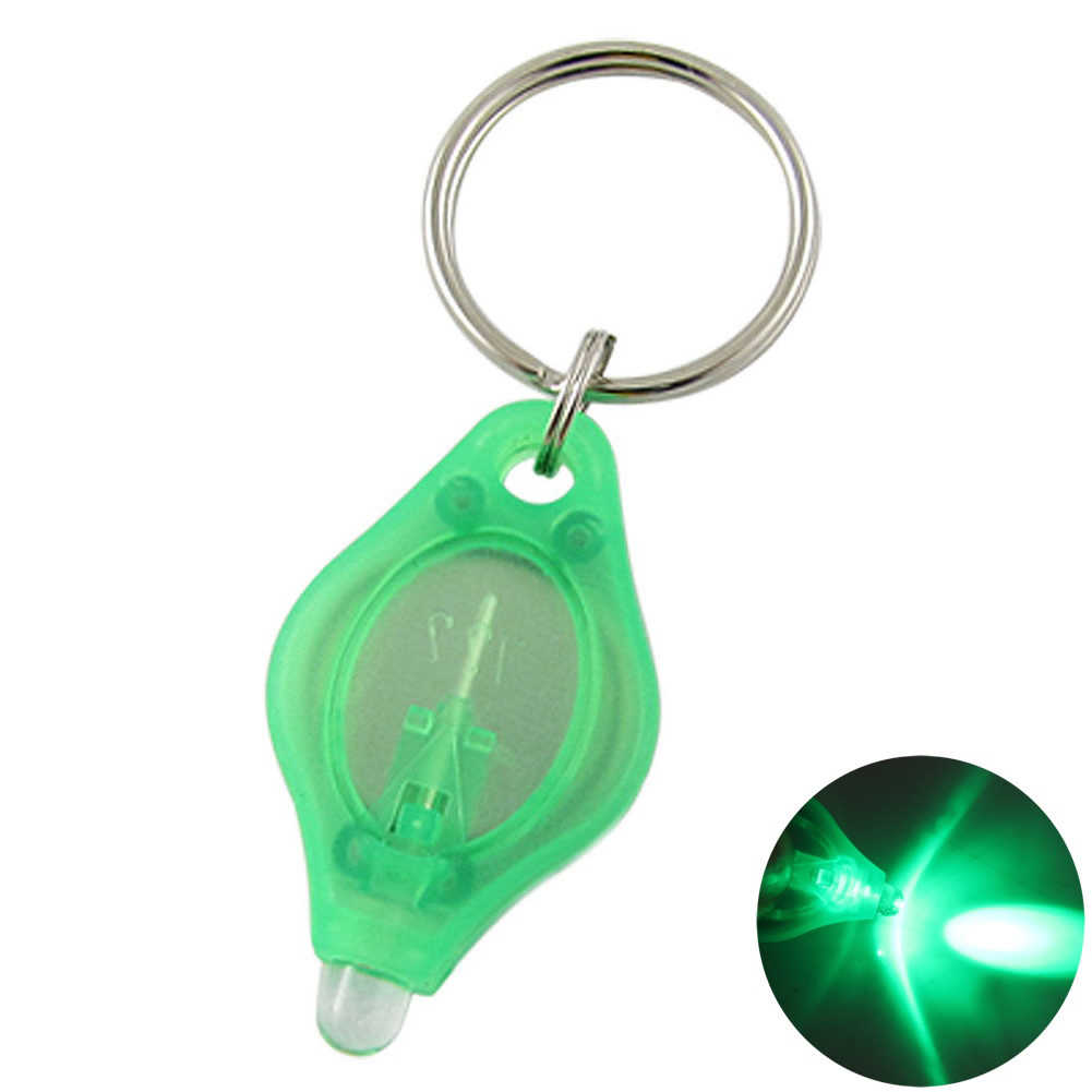2019 Mini LED Keychain Luz Portátil LEVOU Campismo Lanterna Luz chaveiro Chave Anel de Presente Tocha 4x2cm