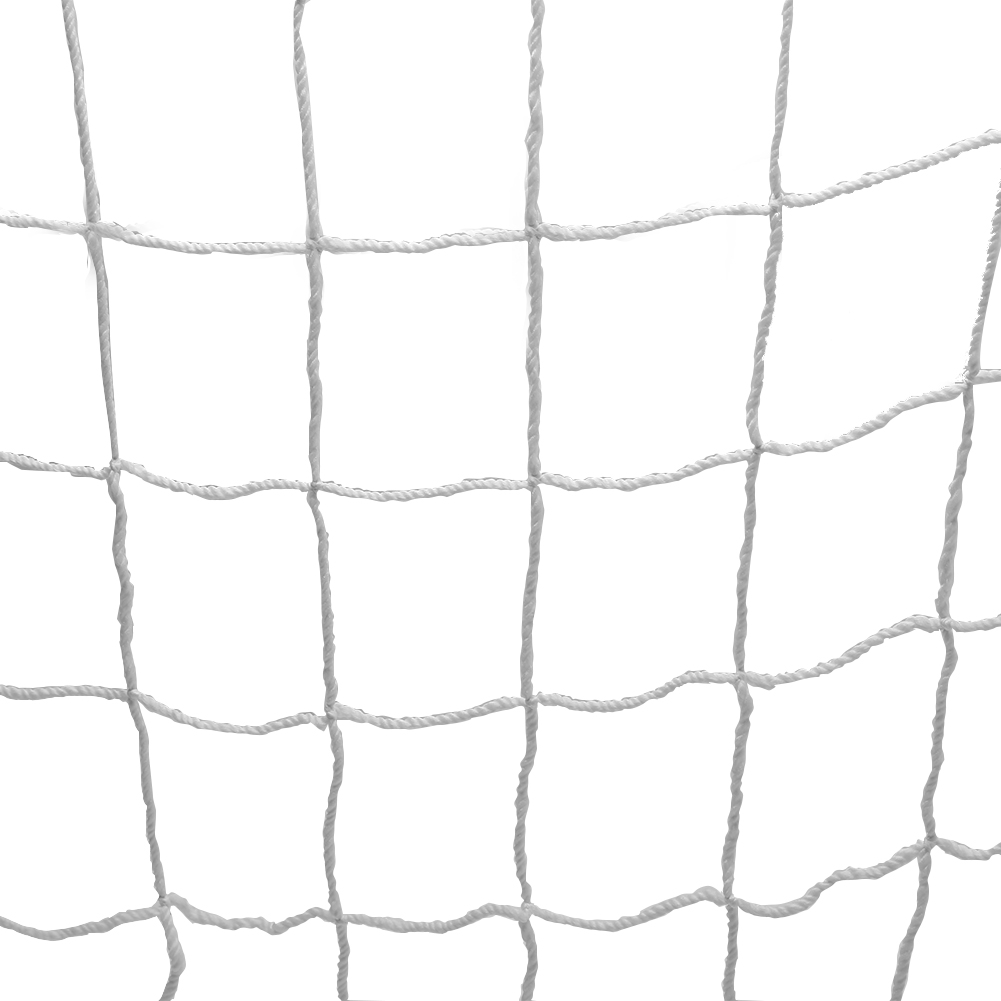 Quality Polypropylene Fiber Ough And Durable Full Size Football Soccer Net Sports Portable Replacement Soccer Goal Post Net