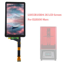 Écran LCD pour ELEGOO Mars 3D 2560x1440 2K 5.5 pouces, sans rétro-éclairage, pour imprimante