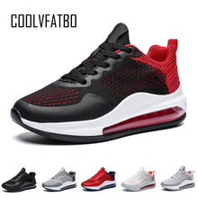 COOLVFATBO Couple Shoes Men Casual Sneakers Shoes