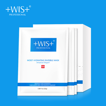 цены WIS Moist Hydrating Invisible Mask Oil Control Deep Moisturizing Natural Ance Care Brightening Skin Face Masks Sheet Mask