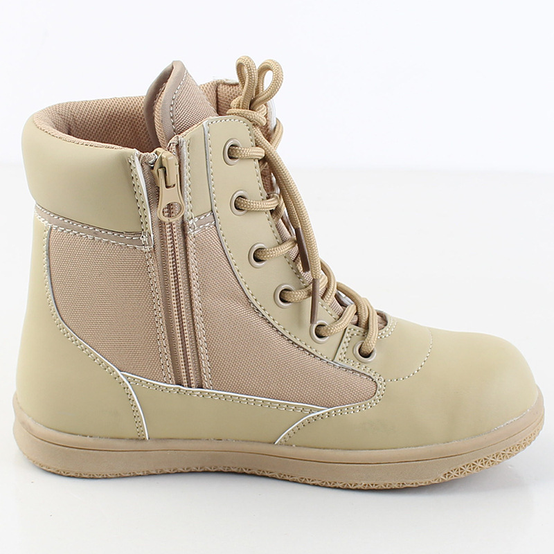 Children Combat Boots Army Fans Outdoor Shoes Breathable Men And Women Summer Camp Activity Spring Outing Boots Training Shoes C