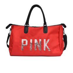 Короткая дорожная сумка Женская Ручная легкая Простая Сумка для багажа большая Вместительная дорожная сумка Водонепроницаемая