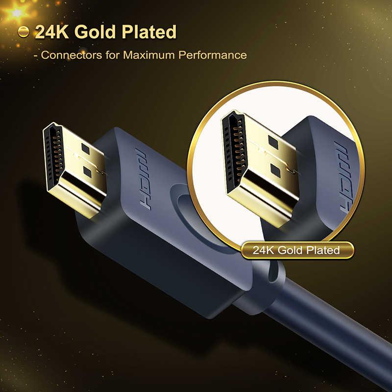 كابل HDMI إلى DVI كابل 24 + 1 دبوس ثنائي الاتجاه برو عالي السرعة HDMI DVI كابل كامل HD 2.0 لمشغل بلو راي Xbox HDTV C119