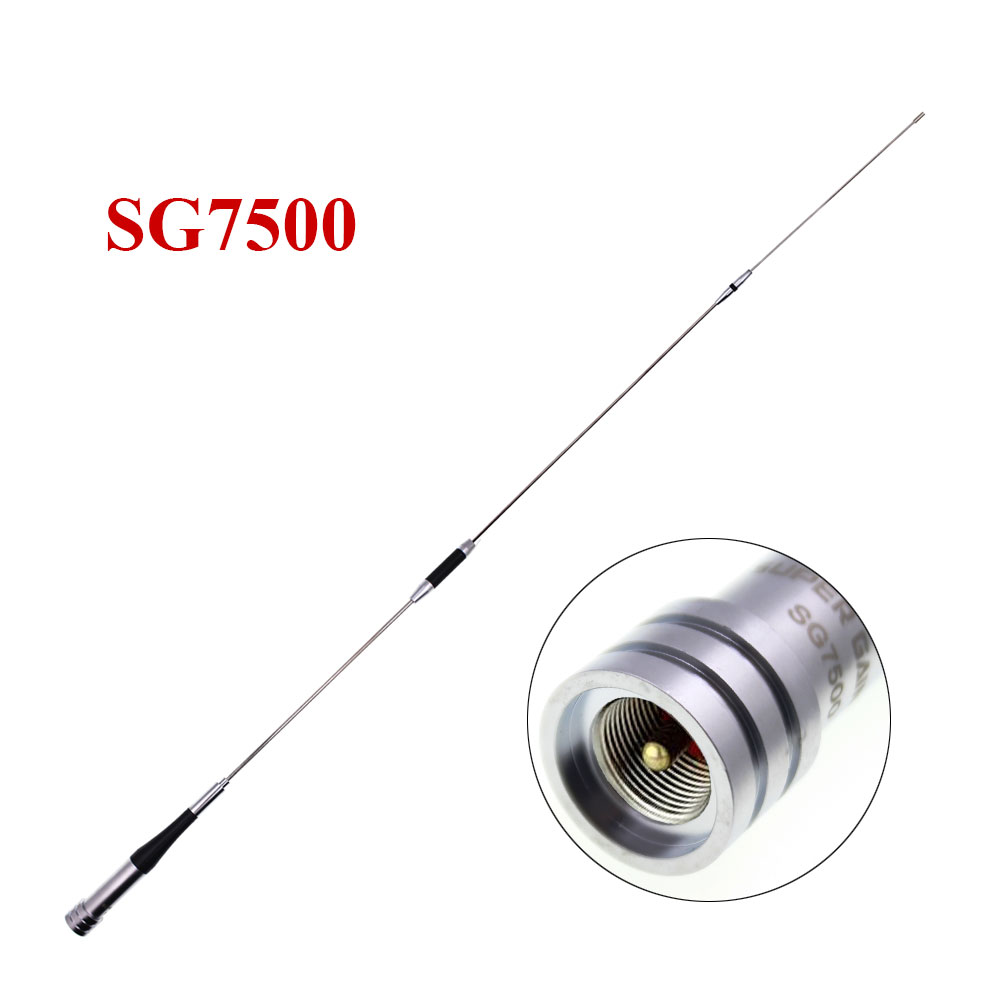 DIAMOND VHF Uhf Dual Band Antenna SG7500 Car Mobile Antenna 144/430Mhz SG-7500 High DBi Gain Antenna For KT-8900D KT-8900 BJ-318